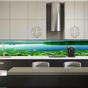 Tranh kính ốp bếp tại Hà Nội